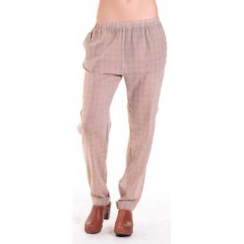 Vêtements Femme Pantalons fluides / Sarouels American Vintage PANTALON ABI178 MIEL/SABLE Beige
