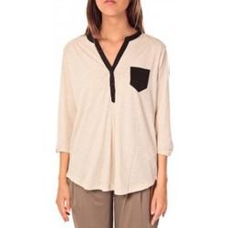 Vêtements Femme Tops / Blouses Tom Tailor Blouse Shirt Écru Beige