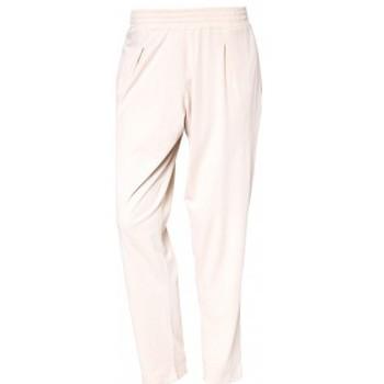 Vêtements Femme Pantalons So Charlotte Pleats jersey Pant B00-424-00 Écru Beige