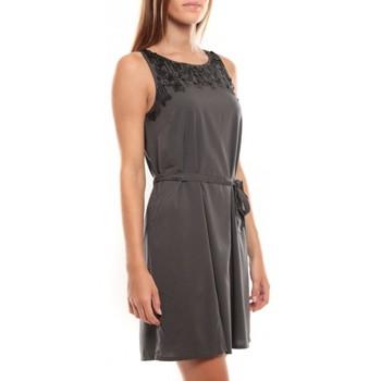 Vêtements Femme Robes courtes Vero Moda Virgo S/L Robe 97034 Anthracite Gris