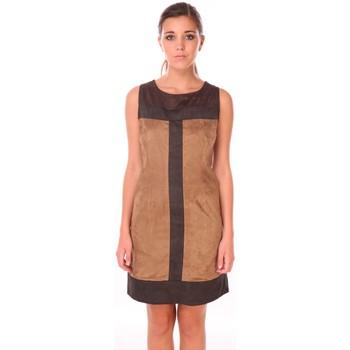 Vêtements Femme Robes courtes Nana Baila Robe sixties Marron