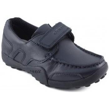Chaussures Garçon Baskets basses Geox mocassin écolier avec MARIN