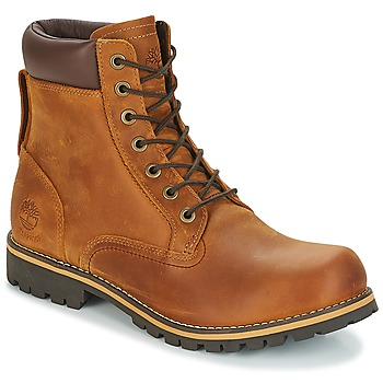Bottines / Boots Timberland EK RUGGED 6 IN PLAIN TOE BOOT Marron foncé 350x350