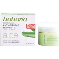Beauté Femme Anti-Age & Anti-rides Babaria Aloe Vera Crema Antiarrugas  50 ml