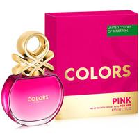 Beauté Femme Eau de toilette Benetton Colors Pink Edt Vaporisateur  50 ml