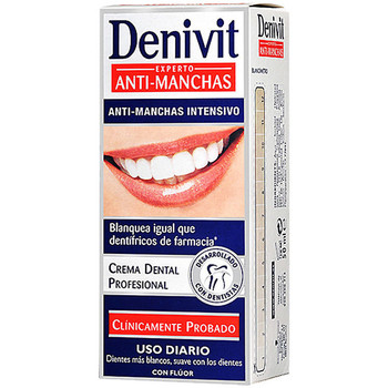 Beauté Accessoires visages Denivit Dentifrico Anti-manchas