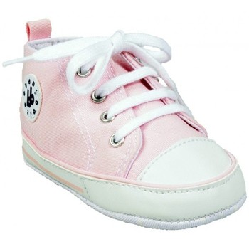 Chaussures Fille Chaussons Babybotte Layette Leader Rose rose