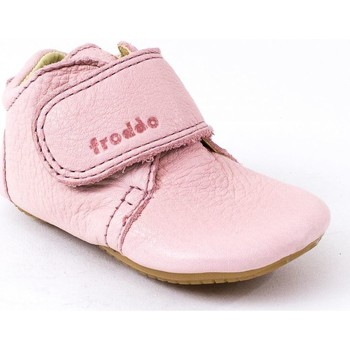 Chaussures Fille Boots Froddo Bottines cuir rose