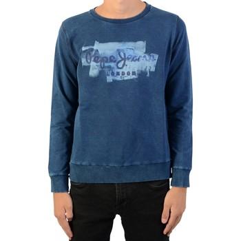 Vêtements Garçon Sweats Pepe jeans Sweatshirt Enfant  Golders Sweat Indigo