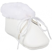 Chaussures Fille Chaussons Babybotte Chaussons Lapon Blanc blanc