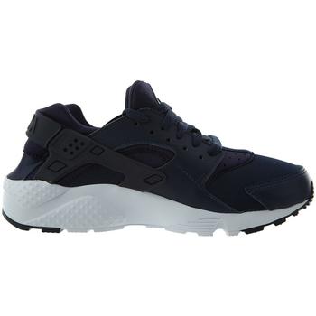 Chaussures Fille Baskets basses Nike Baskets Cadet  HUARACHE GS - 654275-407 Noir