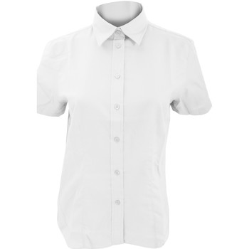 Vêtements Femme Chemises / Chemisiers Kustom Kit Oxford Blanc