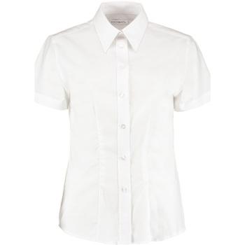 Vêtements Femme Chemises / Chemisiers Kustom Kit KK360 Blanc