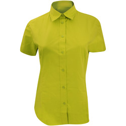 Vêtements Femme Chemises / Chemisiers Kustom Kit Work Vert citron