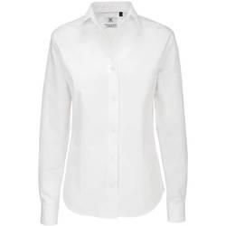 Vêtements Femme Chemises / Chemisiers B And C SWT83 Blanc