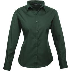 Vêtements Femme Chemises / Chemisiers Premier Poplin Vert foncé