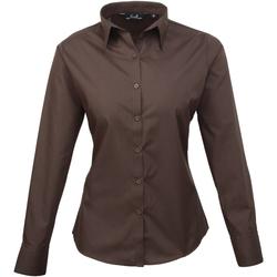 Vêtements Femme Chemises / Chemisiers Premier Poplin Marron foncé