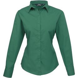 Vêtements Femme Chemises / Chemisiers Premier Poplin Vert