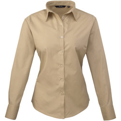 Vêtements Femme Chemises / Chemisiers Premier Poplin Marron clair