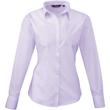 Vêtements Femme Chemises / Chemisiers Premier PR300 Violet pâle