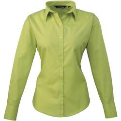 Vêtements Femme Chemises / Chemisiers Premier Poplin Vert clair