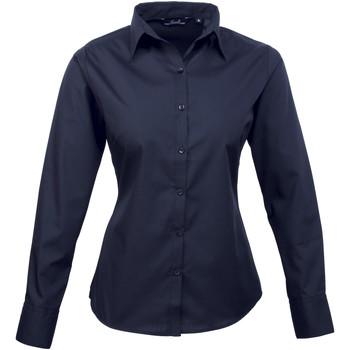 Vêtements Femme Chemises / Chemisiers Premier Poplin Bleu marine