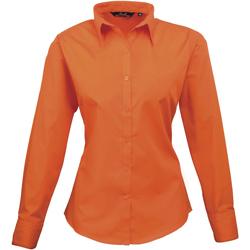 Vêtements Femme Chemises / Chemisiers Premier PR300 Orange