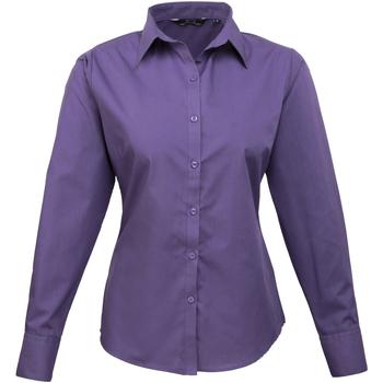 Vêtements Femme Chemises / Chemisiers Premier PR300 Violet