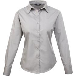 Vêtements Femme Chemises / Chemisiers Premier Poplin Gris clair