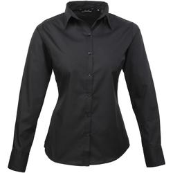 Vêtements Femme Chemises / Chemisiers Premier PR300 Noir