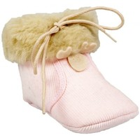 Chaussures Fille Chaussons Babybotte Chaussons Couillou Rose rose