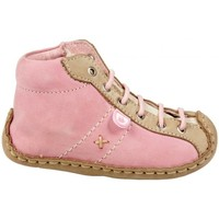 Chaussures Fille Chaussons Babybotte Boots Lewis Rose rose