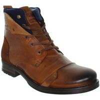 Chaussures Homme Boots Redskins Boots  Yedes en cuir ref_cle39795-cognac+marine Marron