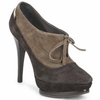 Chaussures Femme Low boots Alberto Gozzi CAMOSCIO ARATY Marron