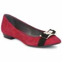 Chaussures Femme Ballerines / babies Alberto Gozzi CAMOSCIO RUBINO Rosso