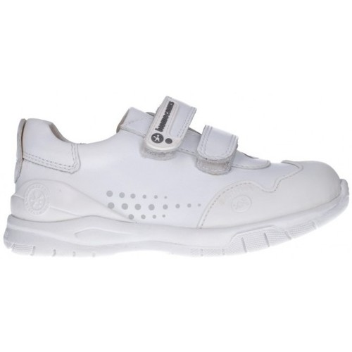 Chaussures Fille Baskets basses Biomecanics 182195 Niña Blanco blanc