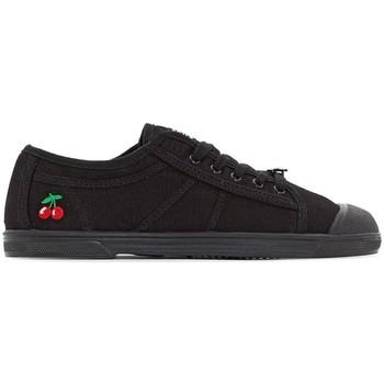 Chaussures Tennis Le Temps des Cerises Basket Basic 02 Mono Black Noir