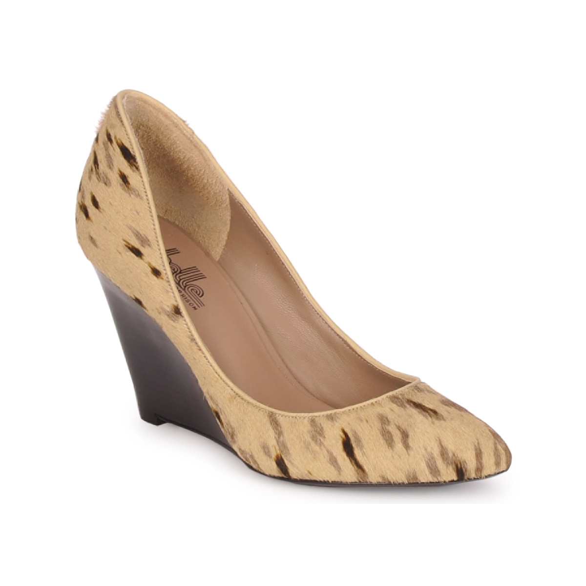 Escarpins Belle by Sigerson Morrison HAIRMIL BEIGE/BLACK
