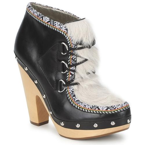 Chaussures Femme Low boots Belle by Sigerson Morrison BLACKA BEIGE/BLACK
