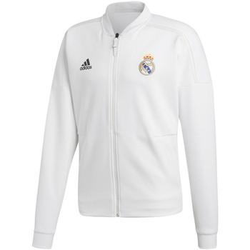 Vêtements Homme Vestes de survêtement adidas Originals Veste  Veste Real Madrid Zne 2018-19 Blanc H blanc