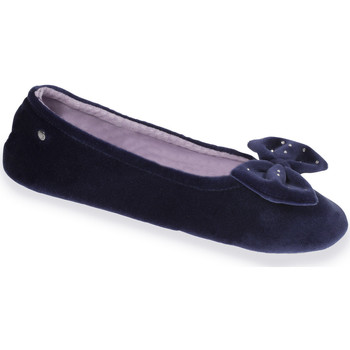 Chaussures Femme Chaussons Isotoner Chaussons ballerines femme Marine
