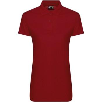 Vêtements Femme Polos manches courtes Pro Rtx RX05F Rouge