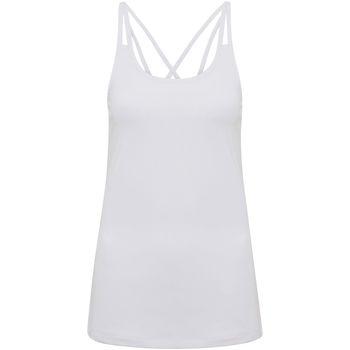 Vêtements Femme Débardeurs / T-shirts sans manche Tridri TR029 Blanc