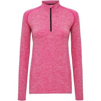 Vêtements Femme T-shirts manches longues Tridri Performance Rose