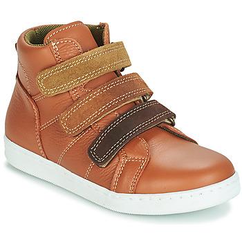 Chaussures Garçon Boots André TRITON CAMEL