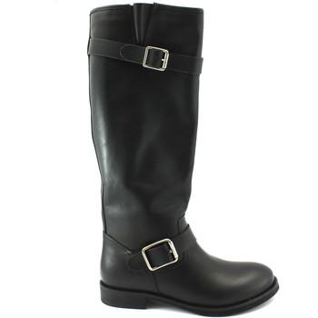 Chaussures Femme Bottes ville Naye NAY-I18-110450-NE Nero