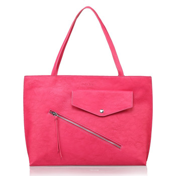 Sacs Femme Cabas / Sacs shopping Andie Blue Cabas collection FIDIS A8311 Fuchsia