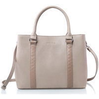Sacs Femme Sacs porté main Andie Blue Sac a main collection NAOS A8327 Taupe