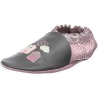 Chaussures Fille Chaussons bébés Robeez 653600 gris