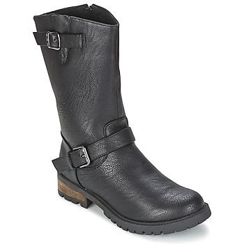Bottines / Boots Les P'tites Bombes ZOLA Noir 350x350